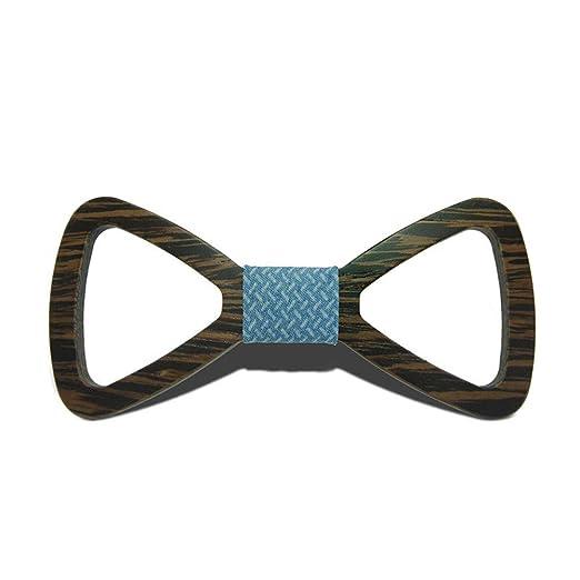 Keliour-tie Corbatas de Lazo para Hombre Hollow out DIY Niños ...