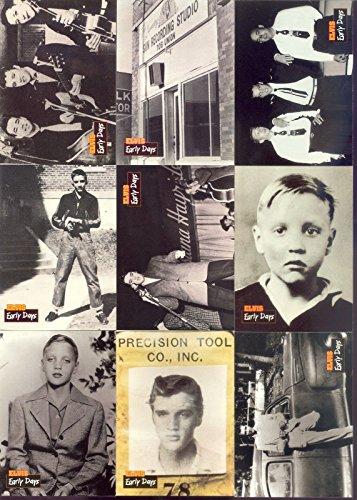 Elvis Collection 1992 River Group Complete 660 Card Set Series 1 2 3 Presley