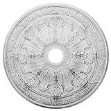 Ekena Millwork CM30FL 30-Inch OD x 3 7/8-Inch ID x 3 1/4-Inch P Flagstone Ceiling Medallion