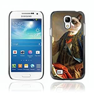 Designer Depo Hard Protection Case for Samsung Galaxy S4 Mini / Grumpy Cat Royalty