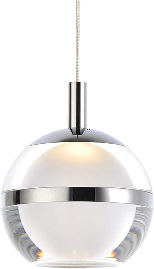 ET2 Lighting E24591-93PC Swank Pendant Light Polished Chrome