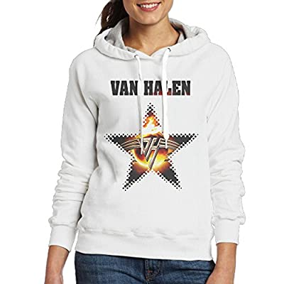 Van Band Women's Hooded Sweatshirt White