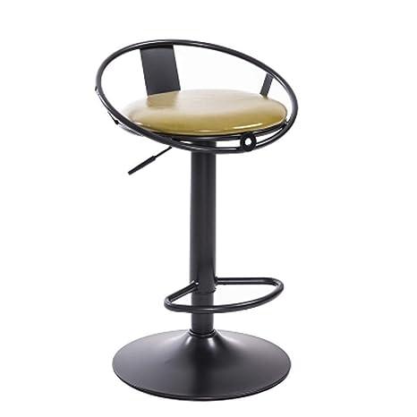 Amazon.com: YJLGRYF Silla de comedor giratoria, silla de bar ...