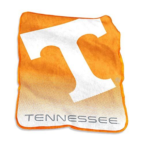 (Logo Brands NCAA Tennessee Volunteers Raschel Throw, One Size, Tangerine)