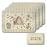 Pfaltzgraff Naturewood Reversible Placemats, Set of 4