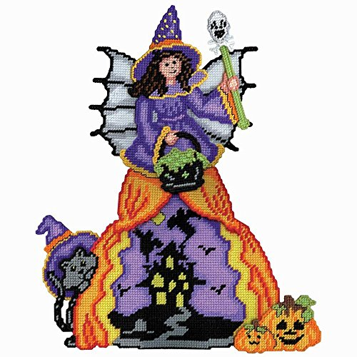 Herrschners® Scenic Witch Wall Hanging Plastic Canvas Kit