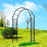 OUTOUR Garden Arch Arbor Arbour Trellis Archway for