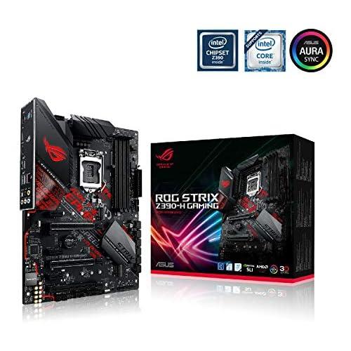 chollos oferta descuentos barato ASUS ROG STRIX Z390 H Gaming Placa base Gaming ATX Intel de 8a y 9a gen LGA1151 con soporte DDR4 4266 MHz 2 M 2 con disipador SATA 6 Gbps HDMI y USB 3 1 Gen 2