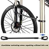 CXWXC Bike Repair Stand -Shop Home Bicycle Mechanic Maintenance Rack- Whole Aluminum Alloy- Height Adjustable