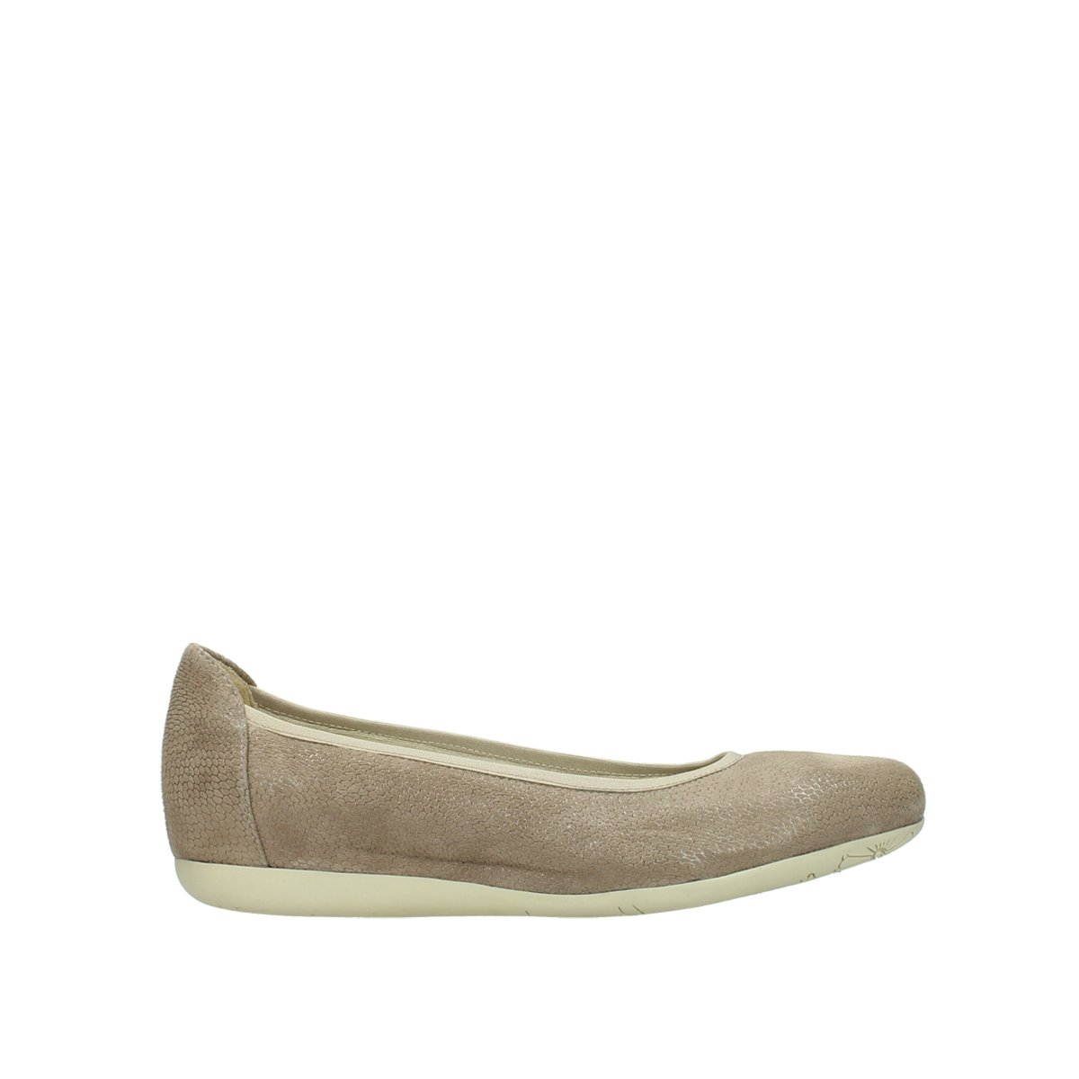 Wolky Comfort Ballet Pumps Tampa B079MCZBTM 36 EU|20150 Taupe Leather