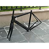 906# Toray Carbon Frameset Full Carbon UD Matt Road Bike BSA Frame 48cm Fork Headset