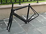 906# Toray Carbon Frameset Full Carbon UD Matt Road Bike BSA Frame 50cm Fork Headset