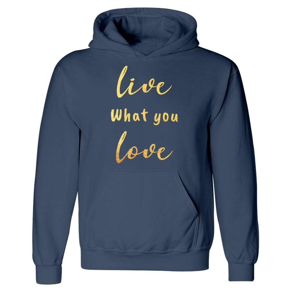 Live What You Love Mindfulness Spiritual Motivation Hoodie