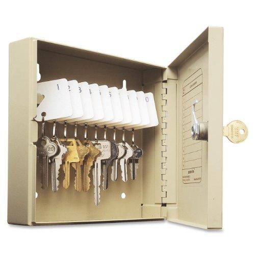 STEELMASTER Unitag Locking 10-Key Cabinet, 6.88 x 6.75 x 2 Inches, Sand (201901003) by STEELMASTER