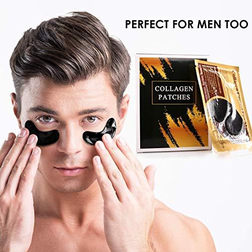 51SroUSqzqL - GOLDERR Under Eye Patches - 24k Gold Eye Mask Anti-Aging Eye Treatment - Collagen Under Eye Pads - Hyaluronic Acid for Eye Bags - Puffy Eyes Wrinkles Under Eye Dark Circles Moisturizing Treatment