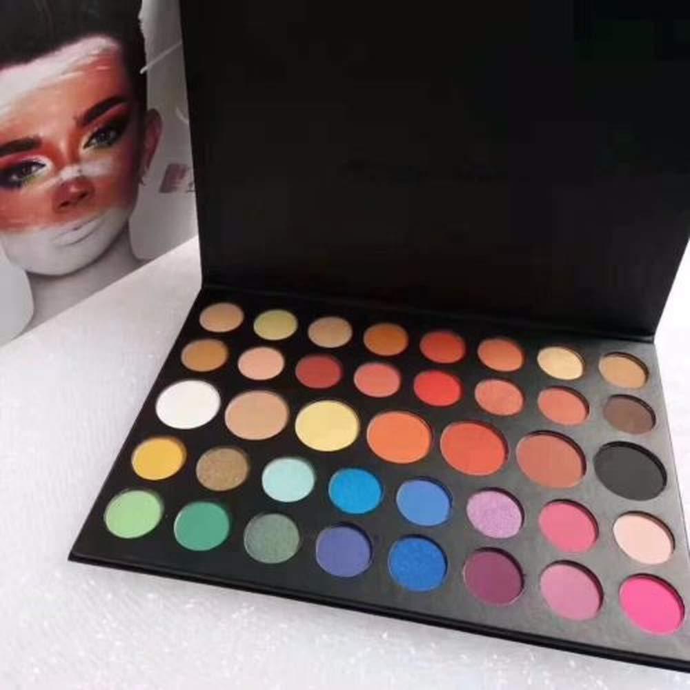 Women Pearlized Charles Inner Artist 39 Pressed Eye Shadow Palette Make-Up Hot