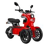 Doohan iTank electrical tricycle dual-front wheels EV3 (BLACK)