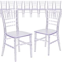 Flash Furniture 10 Pk. Kids Crystal Transparent Chiavari Chair