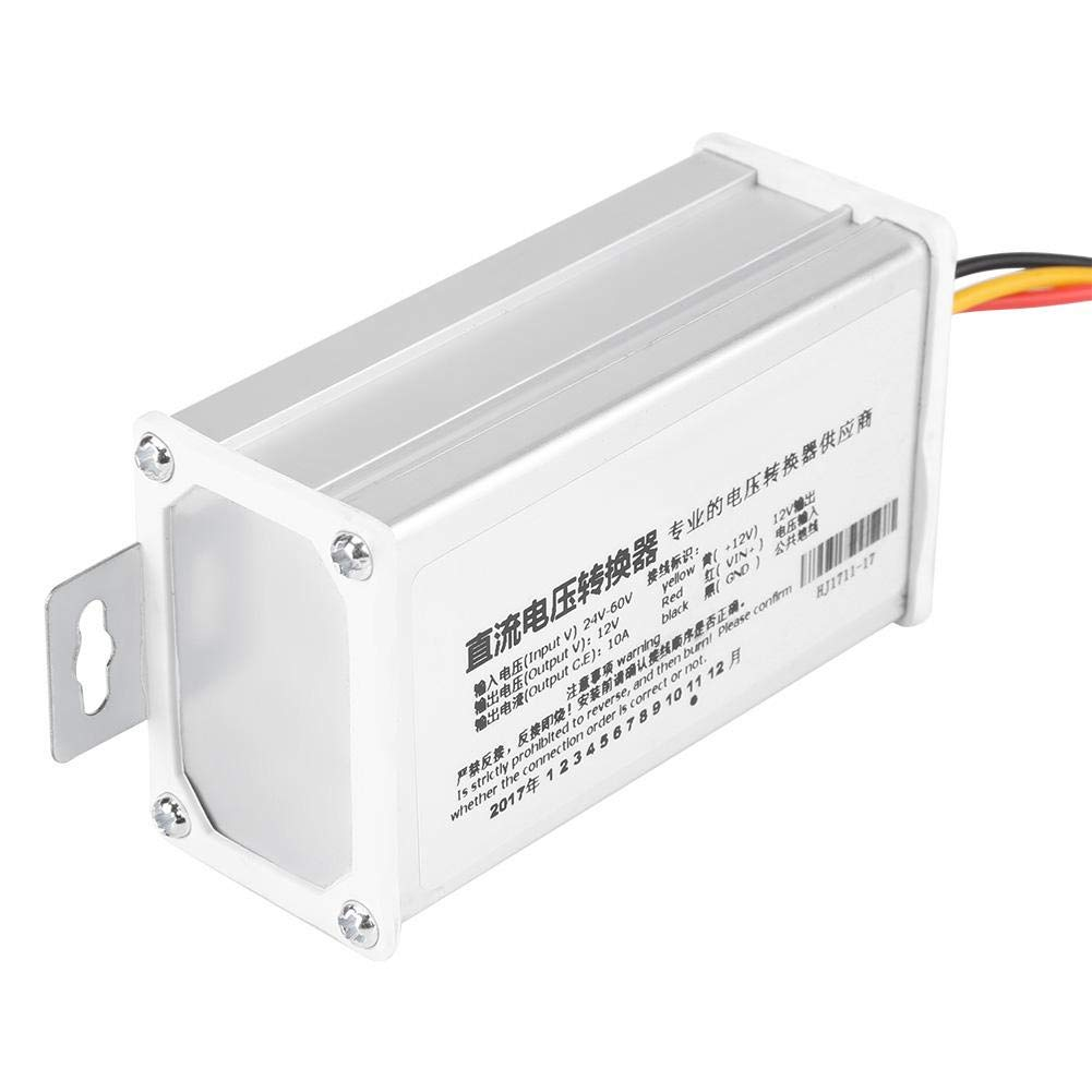DC 24V-60V to 12V-10A 120W Converter Adapter for Electric Scooter Electric Vehicle Transformer