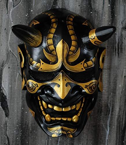 tripple_777 Hannya Kabuki Demon Oni Airsoft Mask BB Gun Halloween Costume Evil Cosplay MA243