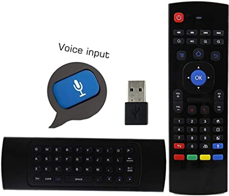 2.4GHz Wireless Air Fly Mouse IR Study 6-Axis Keyboard TV Box Remote Control USB