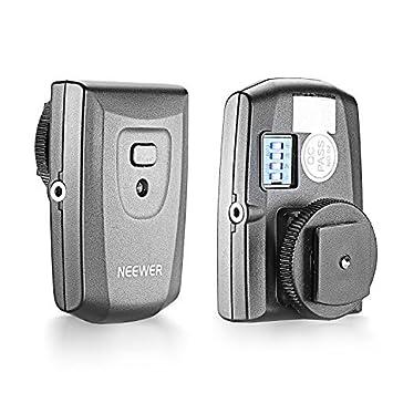 Neewer RT-16 433Hz Conector Estudio Strobe Monolight Flash Sincronizaci/ón Disparador Inal/ámbrico Flash 16 Canales Kit