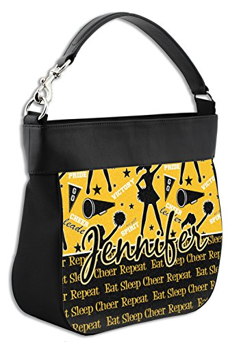 Front w Genuine Hobo Cheer Leather Purse Personalized Trim PxYOw6