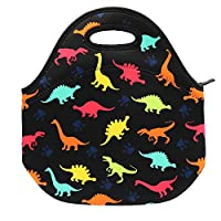 Neoprene Lunch Bag Insulated Lunch Box Tote for Kids Teens Boys Teenage Girls Toddlers Women Men Adult