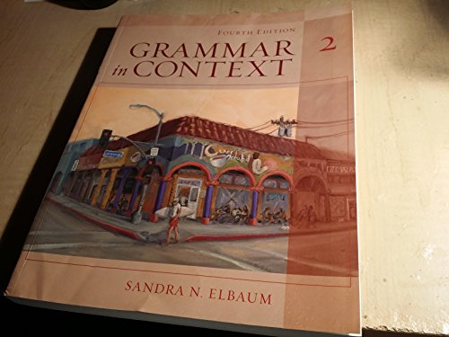 Grammar in Context 2, Fourth Edition (Full Student Book)