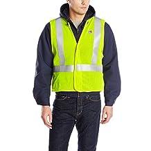 Carhartt mens big Flame Resistant High Visibility Breakaway Vest