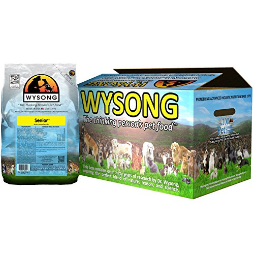 Wysong Senior Canine Formula Dry Diet Senior Dog Food, Four- 5 Pound Bags