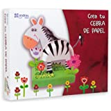 Andreu Toys 26 x 20 x 3.5 cm Make Cardboard Zebra Craft (Multi-Colour)