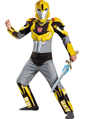 Disguise Bumblebee Animated Classic Muscle Costume