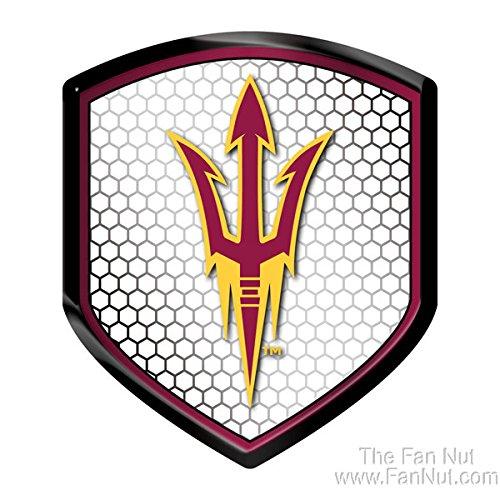 NCAA Arizona State Sun Devils Team Shield Automobile Reflect