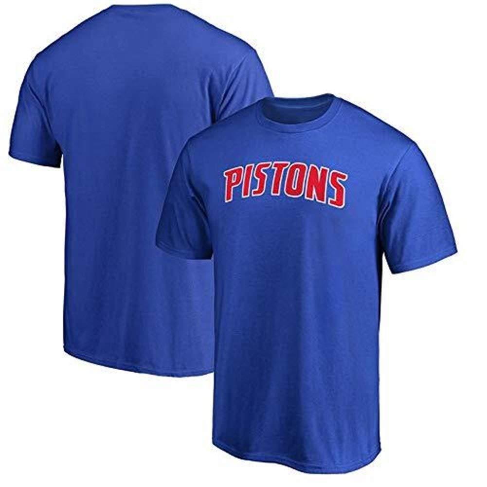 CHERSH Detroit Pistons NBA Jersey Summer Basketball Sports ...