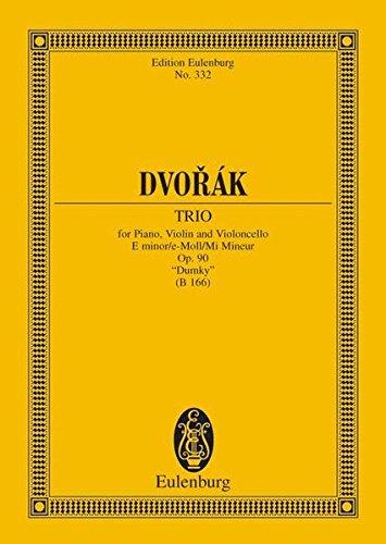 Piano Trio in E minor, Op. 90 (B 166)
