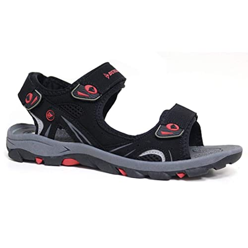 19dde14347c5 Dunlop Men s Sports Beach Trekking Walking Hiking Touch Close Strap Sandals  Sizes 7-12 (