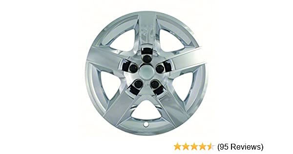 Amazon.com: 2008, 2009, 2010, 2011, 2012 Chevy Malibu Chrome Factory Replica Wheel Covers / Hubcaps (Set of 4) - 17