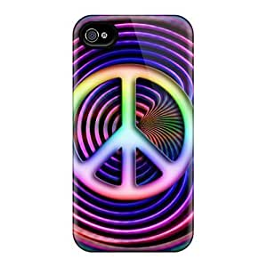 Brand New 4/4s Defender Case For Iphone (peace) Kimberly Kurzendoerfer
