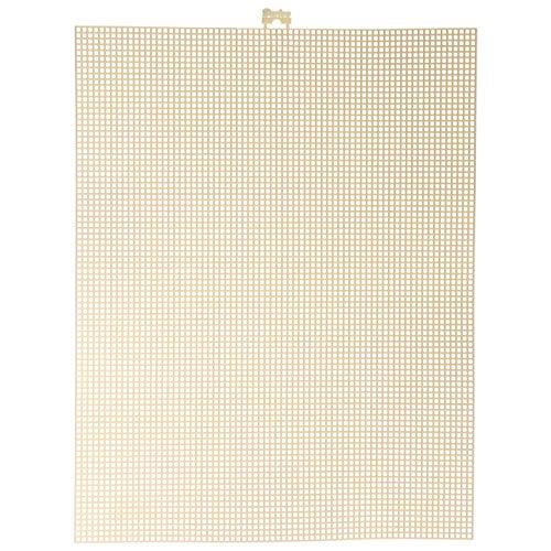 (Darice Bulk Buy DIY #7 Mesh Plastic Canvas Ivory 10.5 x 13.5 (12-Pack) 33900-23 )