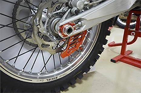 ETbotu Protector de Disco de Freno Trasero para Motocicleta KTM 125 250 350 450 525 530 SX SX-F EXC MXC XCW: Amazon.es: Coche y moto