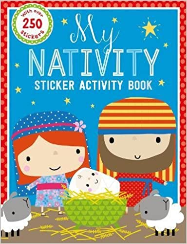 Book My Nativity Sticker Activity Book (With Over 250 Stickers)
