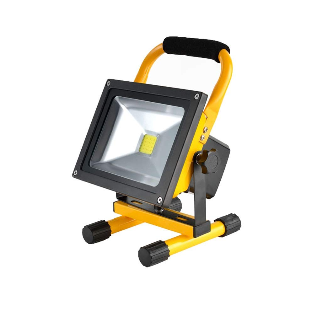 Luce di inondazione di ricarica a LED integrata (colore   Luce bianca-30W)