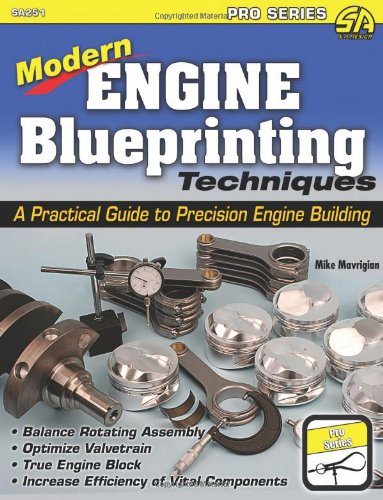 - Modern Engine Blueprinting Techniques: A Practical Guide to Precision Engine Building (Pro)