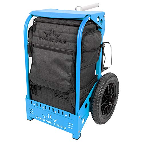 Dynamic Discs Backpack Disc Golf Cart by ZUCA (Matte Blue)