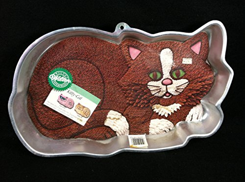 Wilton Kitty Cat Kitten Cake Pan (2105-1009, 1987) -