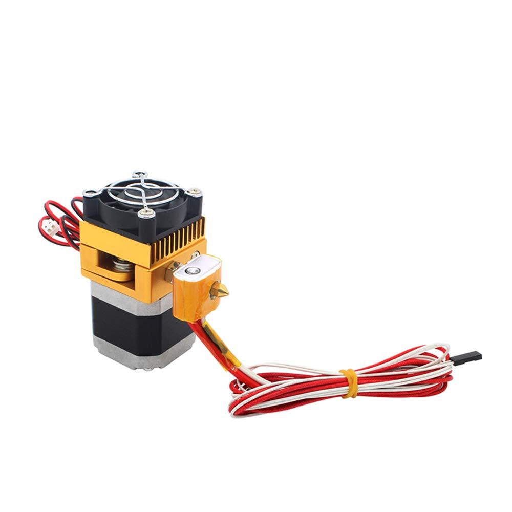 Triggo Metal MK8 Extruder with 0.4mm Nozzle for MakerBot Prusa i3 DIY 3D Printers