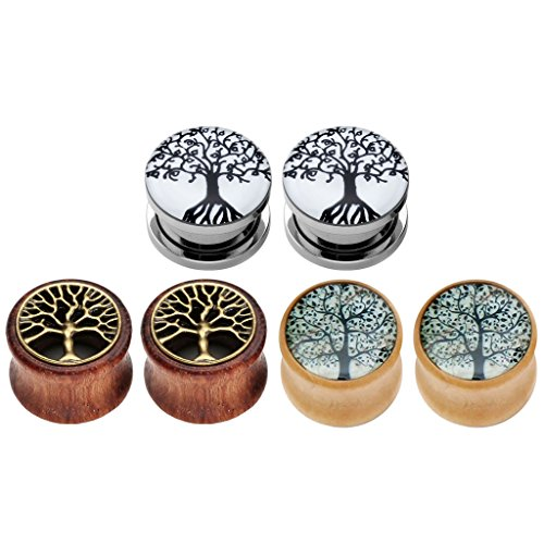 jovivi-6pcs-tree-of-life-stainless-steel-organic-wood-ear-tunnels-plugs-kit-expander-stretchers-0g-5