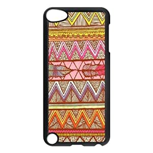 Custom Aztec Chevron Personalized Protective Cover Case for iPod Touch 5