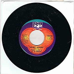 """Peggy Scott & Jo Jo Benson - Lovers Heaven / Sugarmaker - [7""""]"""